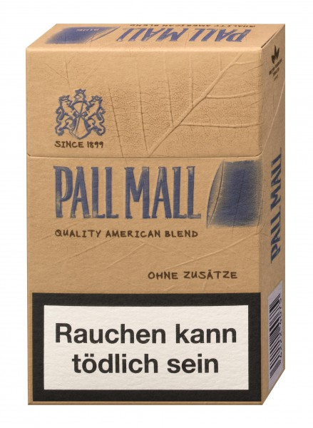 Pall Mall Authentic Tobacco blue