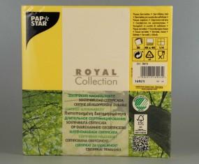 Royal Servietten, 40 cm x 40 cm, 1/4 Falz, 3-lagig, bunt