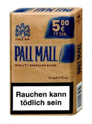 Pall Mall Authentic Tobacco blue AP