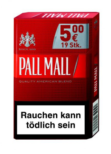 Pall Mall red AP