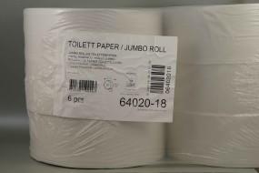 Jumbo-Toilettenpapier, 2-lagig