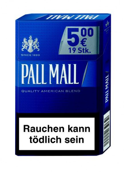 Pall Mall blue AP