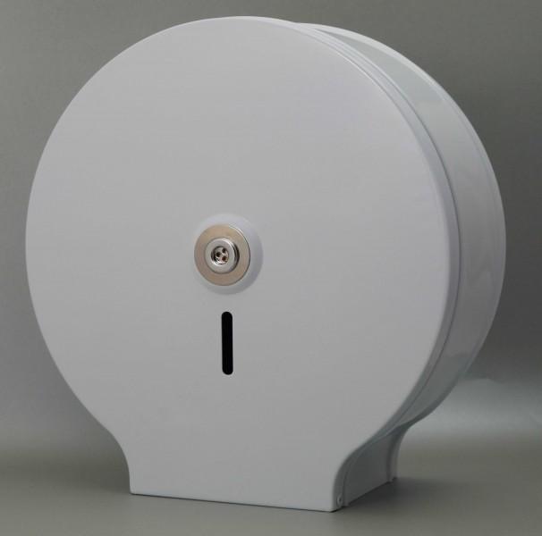 Toilettenpapierspender metall weiss
