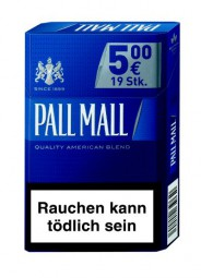 Pall Mall blue AP