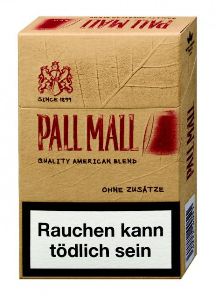 Pall Mall Authentic Tobacco red