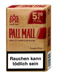 Pall Mall Authentic Tobacco red AP